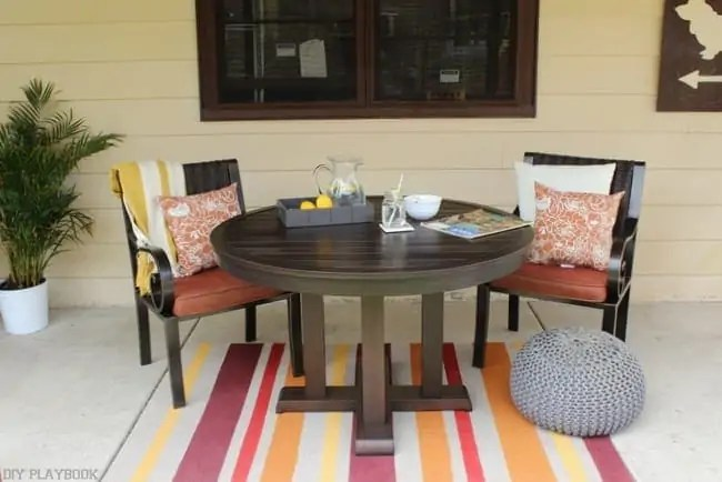 allen roth patio makeover for less