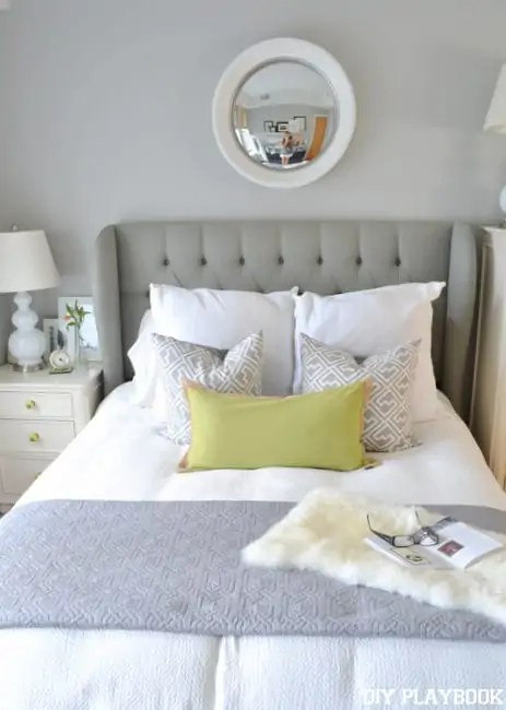 Mirror-over-bed