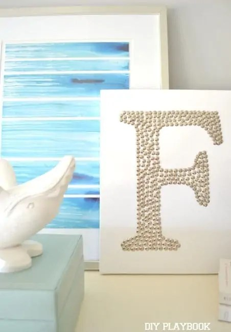 Silver-F-Monogram