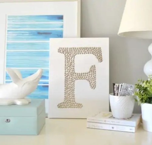 Thumbtack-art-on-dresser