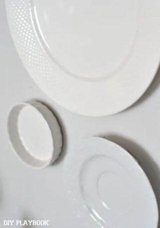 Close-ups-Plates
