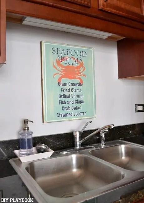 Seafood-Sign