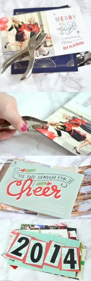 how to save old Christmas Cards