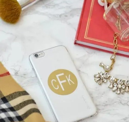 Monogram-Phone-Cover