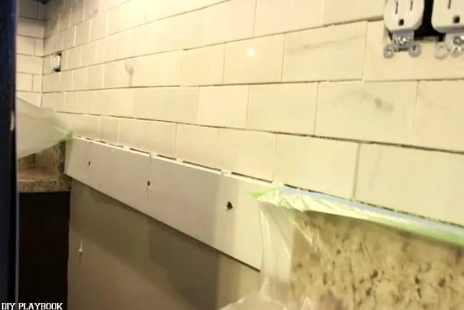 Tips If You Re Installing Diy Backsplash Tile For The