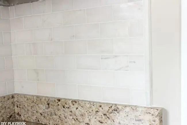 tips if you 39 re installing diy backsplash tile for the first time. Black Bedroom Furniture Sets. Home Design Ideas