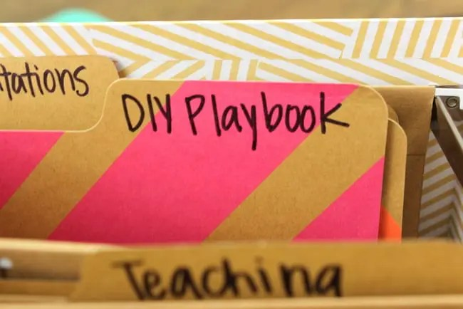 diy playbook file