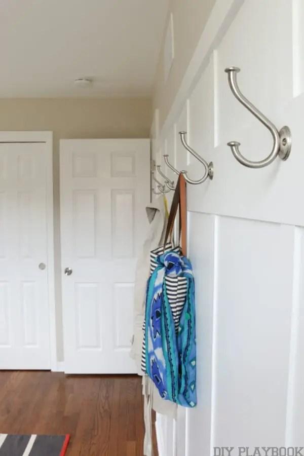 board and batten bedroom