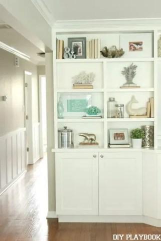 Shelves Built In