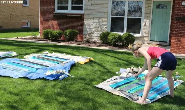 Bridget-Spray-Painting-Outdoor Rugs