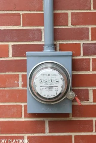 meter after paint