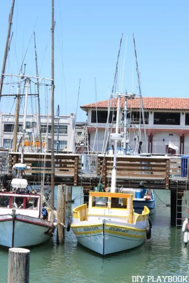 san francisco boats
