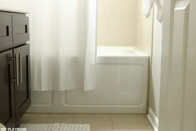 height for your shower curtain