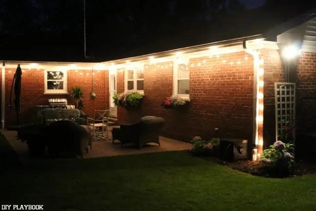 night patio lights