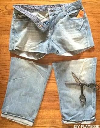 goodwill jean shorts