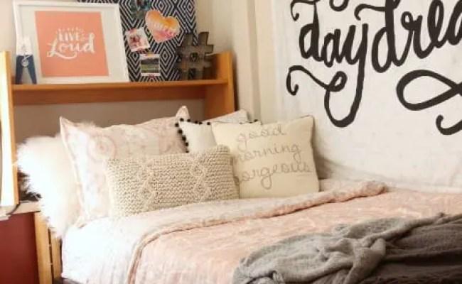 Dorm Makeover Dormify Grace Room Diy Playbook