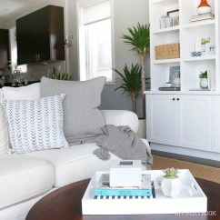 Living Room Decorative Pillows Furniture Sets Austin Tx How To Choose Throw For A Gray Couch The Diy Playbook Accent Can Transform