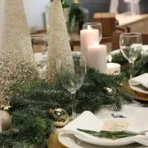 holiday Christmas table