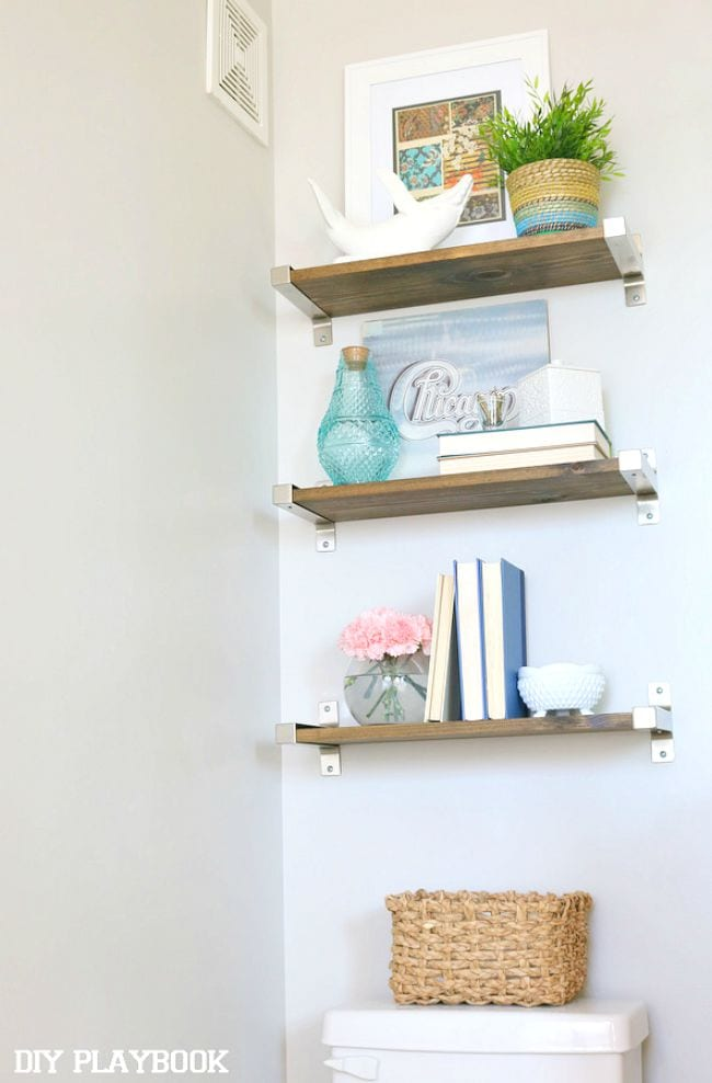 Wooden-Ikea-Shelves