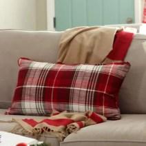 Christmas Plaid Pillow