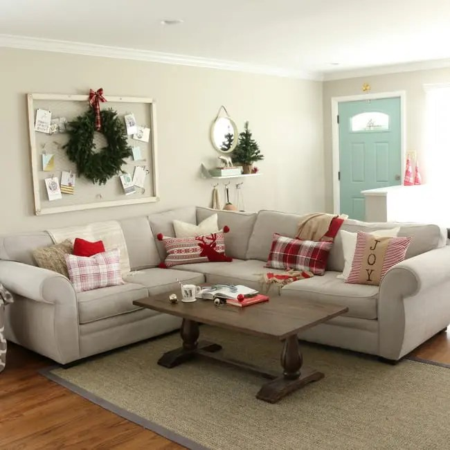 Christmas Family Room Tour