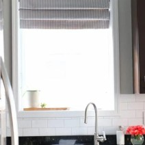 faux-roman-shade-window-kitchen