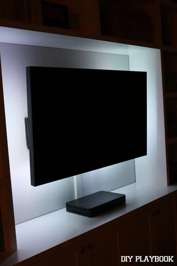 white-led-lights-tv-built-ins