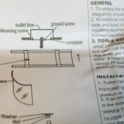 Wiring A Light Fixture Diagram For Caravan Electric Brakes How To Install Ceiling Diy Playbook This Is