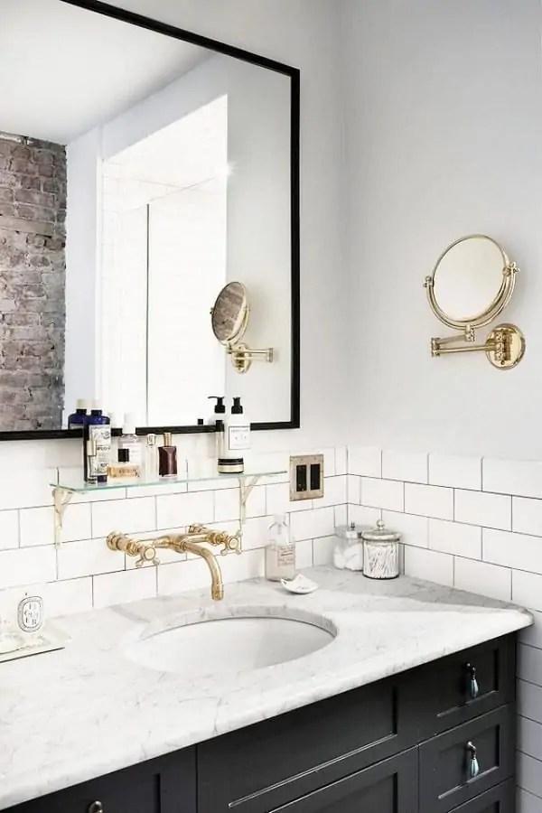 bathroom myDomaine 001. Bathroom Vanity Lighting and Shiplap