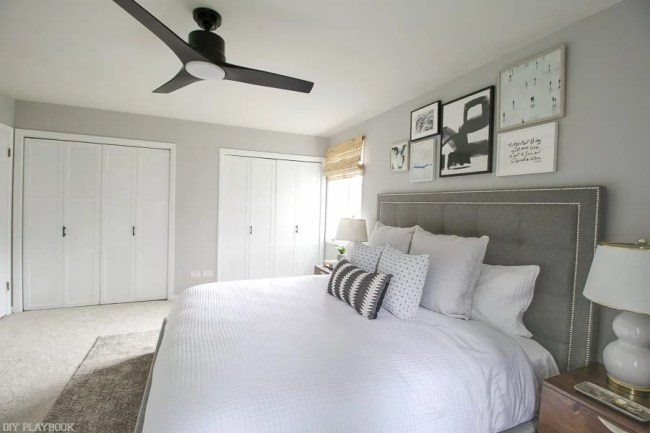 lowes-makeover-bedroom-reveal-bed-closet-doors