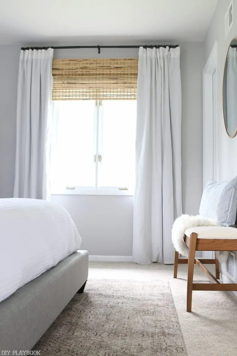 Step By Step Tutorial To Hang Bamboo Shades In Your Home