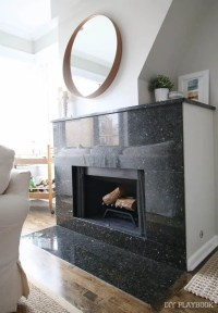 How to Spray Paint the Interior of the Fireplace in your Home