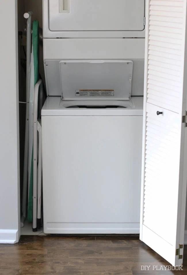Amazing With Laundry Closet