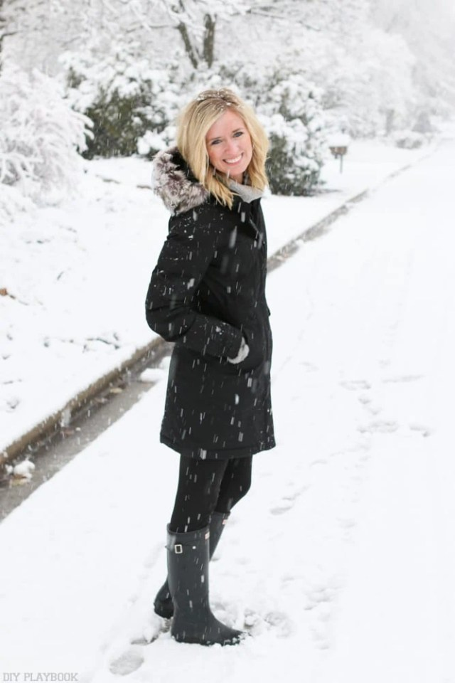 Bridget Winter Coat Snow Boots