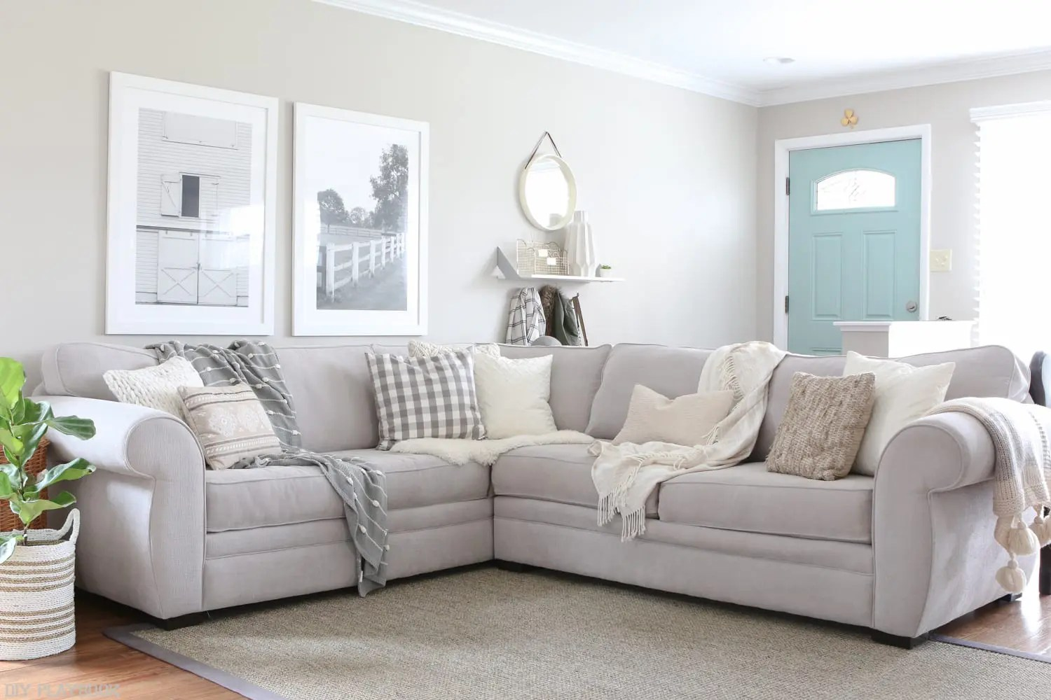 How to Choose Throw Pillows for a Gray Couch  The DIY