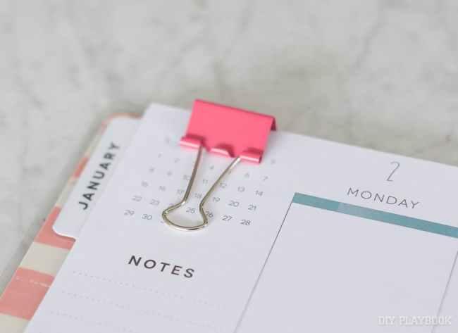 planner-binder-clip