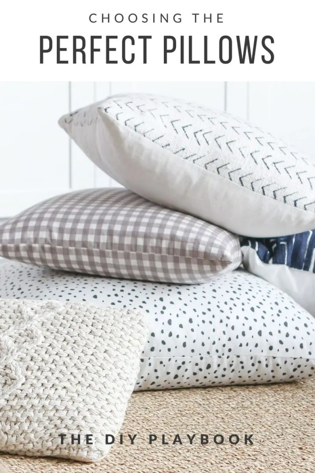 Choosing the perfect pillows