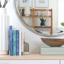 fauxdenza_mirror_Spring_branches_books_flowers-4