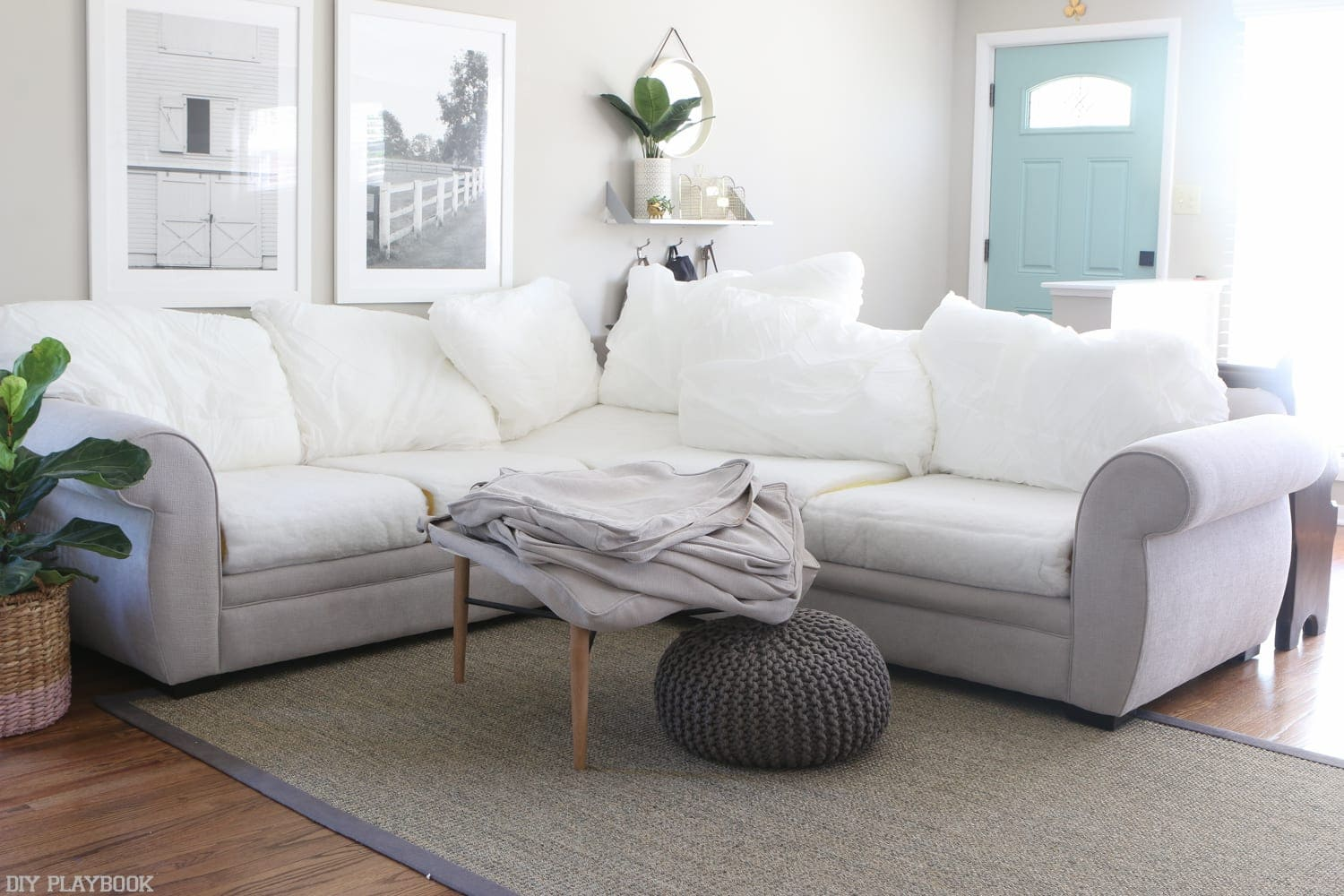polyester sofa washing machine blue and white fabric how to clean couch cushions in four easy steps
