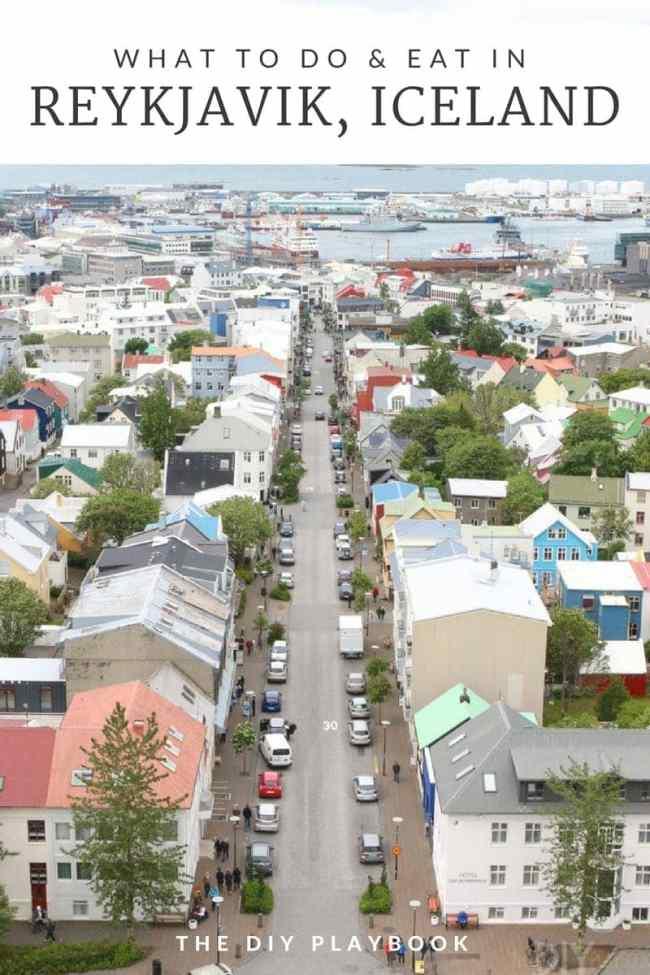 travel guide to Reykjavik, Iceland