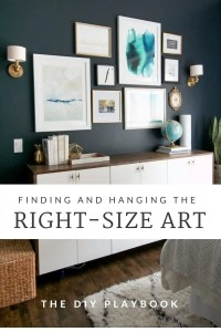 How to Properly Hang Art on Your Wall: Height & Distance ...