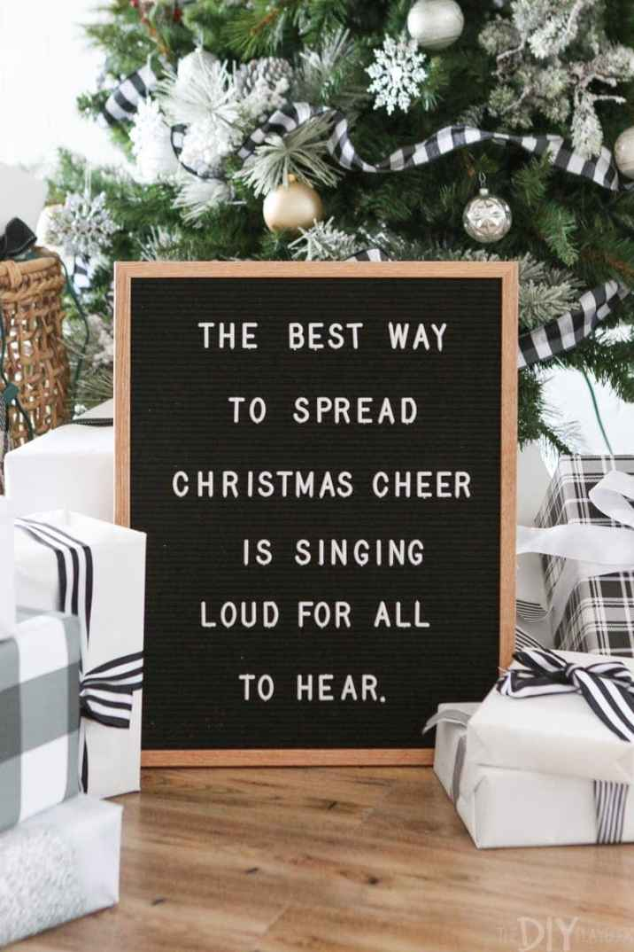 The best way to spread Christmas cheer