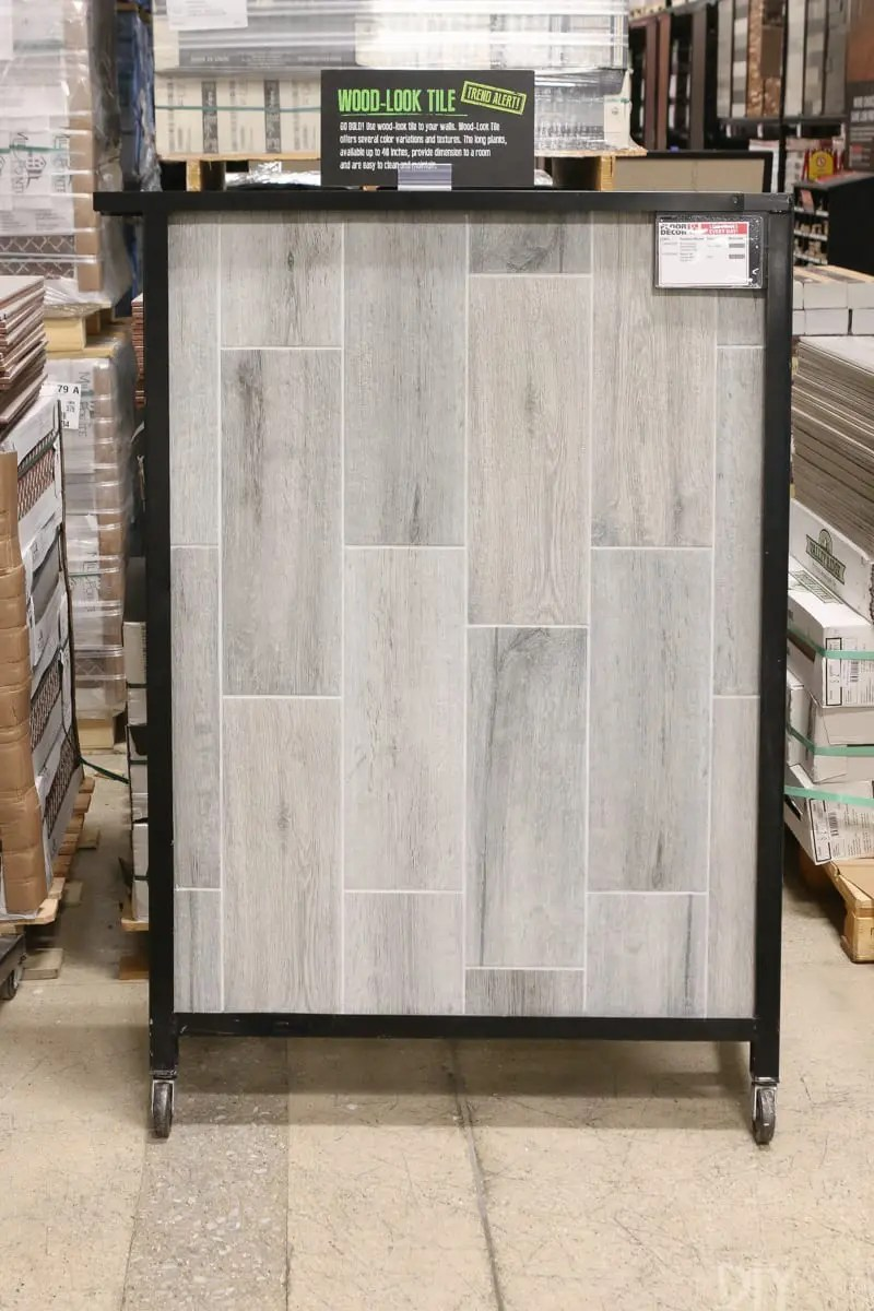 Choosing Tile For the Mudroom with Floor and Decor