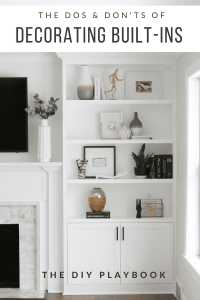 The Dos and Don'ts of Decorating Built-In Shelves | The ...