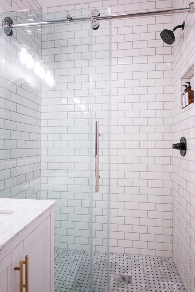 revealing our diy bathroom makeover