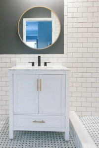 Video Tutorial: How to Hang a Bathroom Mirror | The DIY ...