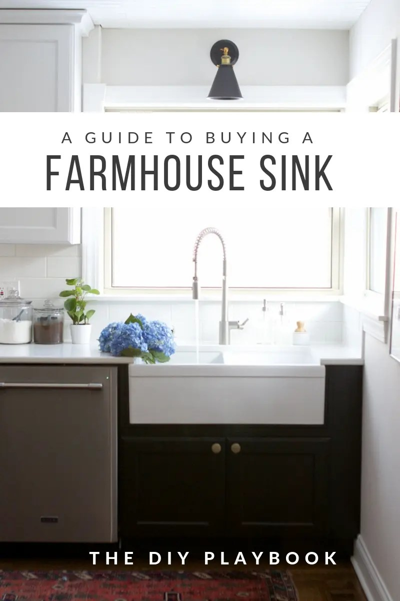 https thediyplaybook com choosing a farmhouse sink faucet