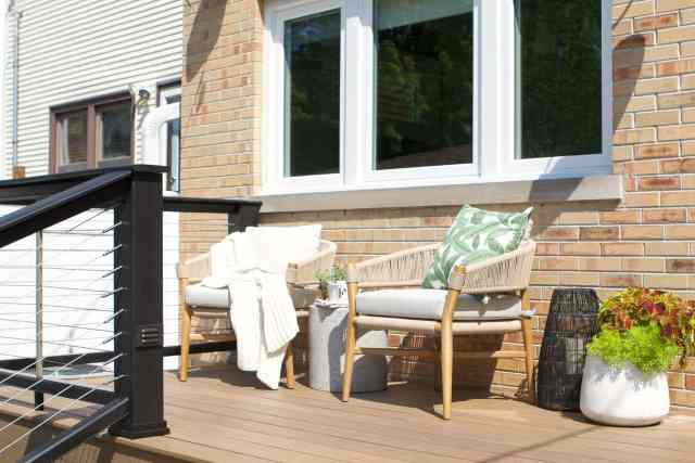 Our outdoor chairs from Article