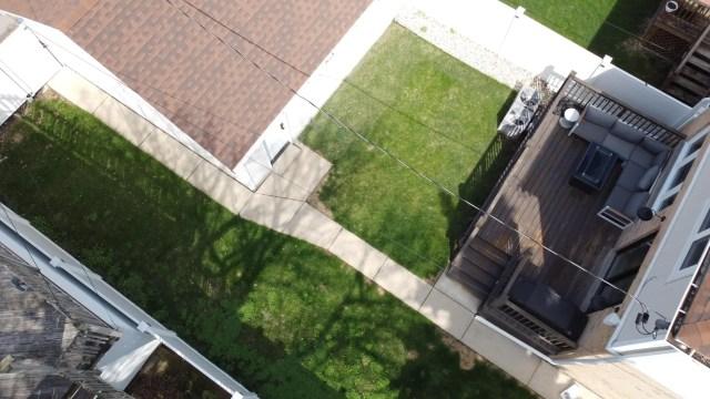 Backyard shot before