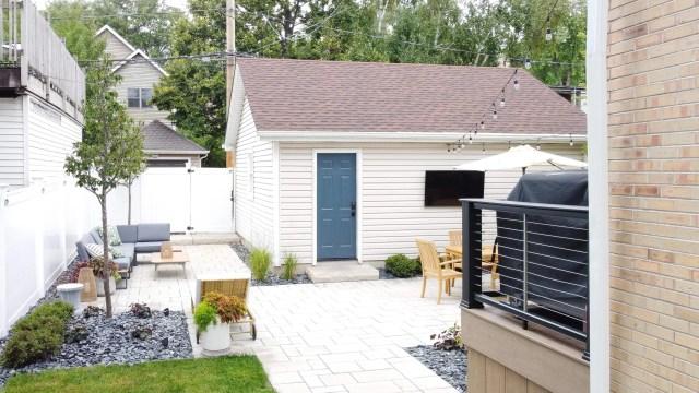 Adding an area near our garage
